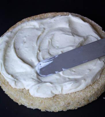 Spreading pastry cream | ZoëBakes | Photo by Zoë François