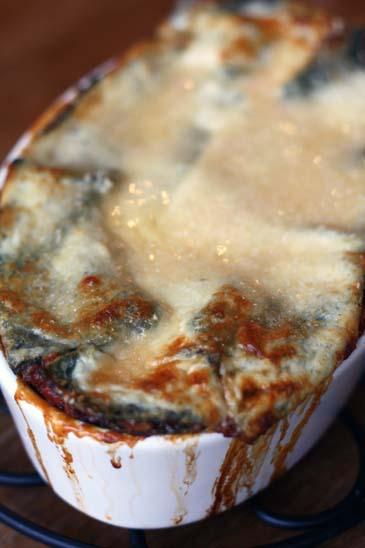 Spinach Pasta Lasagna Recipe | ZoëBakes | Photo by Zoë François