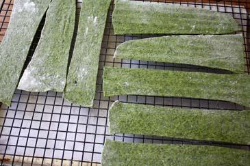 Spinach Pasta Recipe | ZoëBakes | Photo by Zoë François