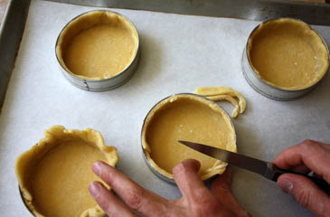 Bakewell tarts recipe | ZoëBakes | Photo by Zoë François