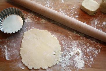Rolled out tart dough | ZoëBakes | Photo by Zoë François