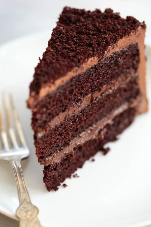 Chocolate Blackout Cake | Photo by Zoë François