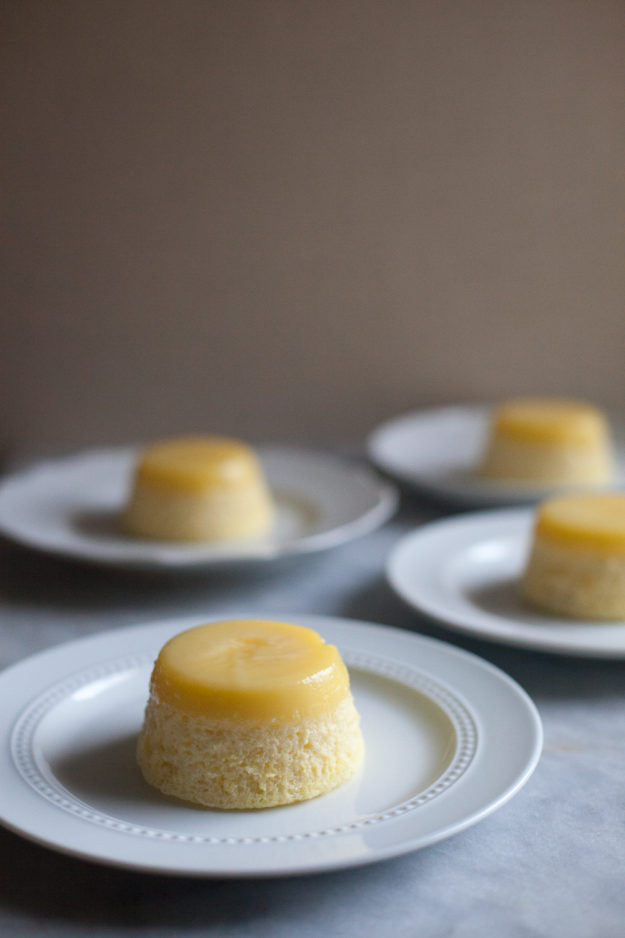 Meyer Lemon Pudding-Cake | photo by Zoë François