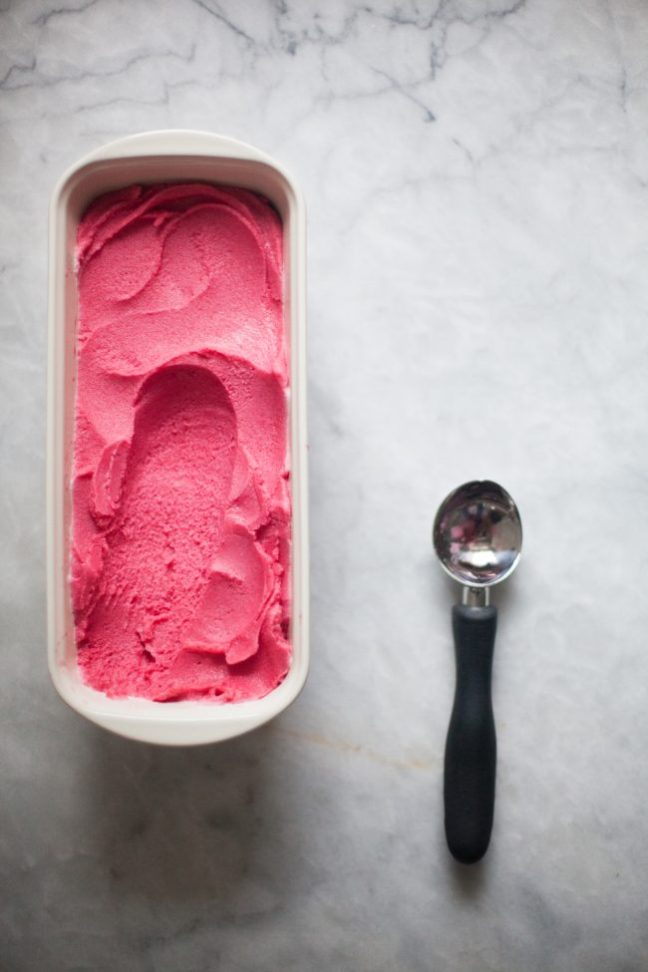 How to make sorbet - Photo by Zoë François
