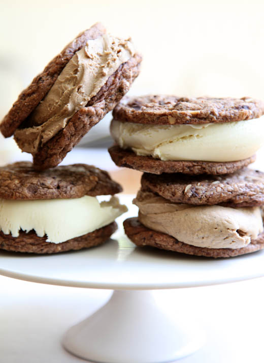 Ice cream sandwiches | ZoëBakes | Photo by Zoë François