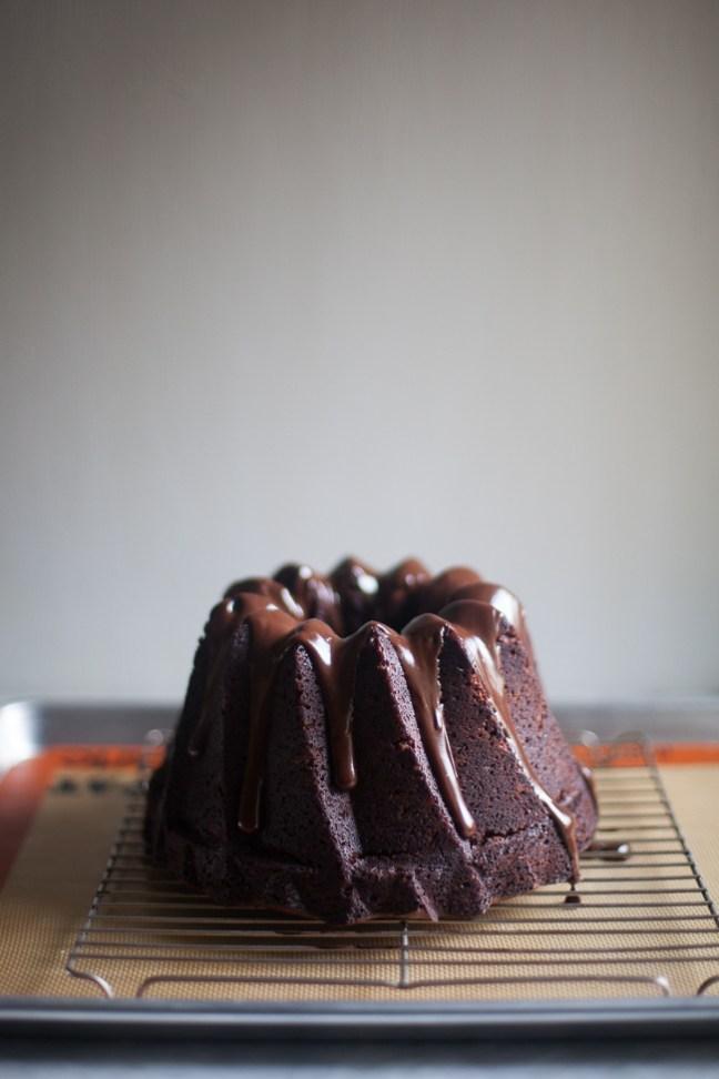 Chocolate Zucchini Cake | ZoeBakes photo by Zoë François