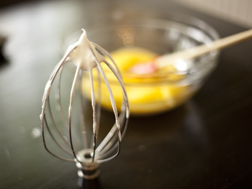 Whipping eggs and sugar | ZoëBakes | Photo by Zoë François