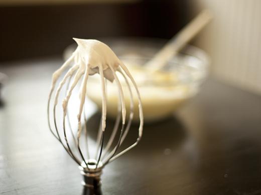 Whipped heavy cream with vanilla | ZoëBakes | Photo by Zoë François