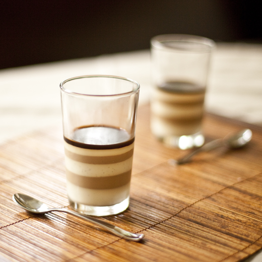Vietnamese ice coffee panna cotta | ZoëBakes | Photo by Zoë François