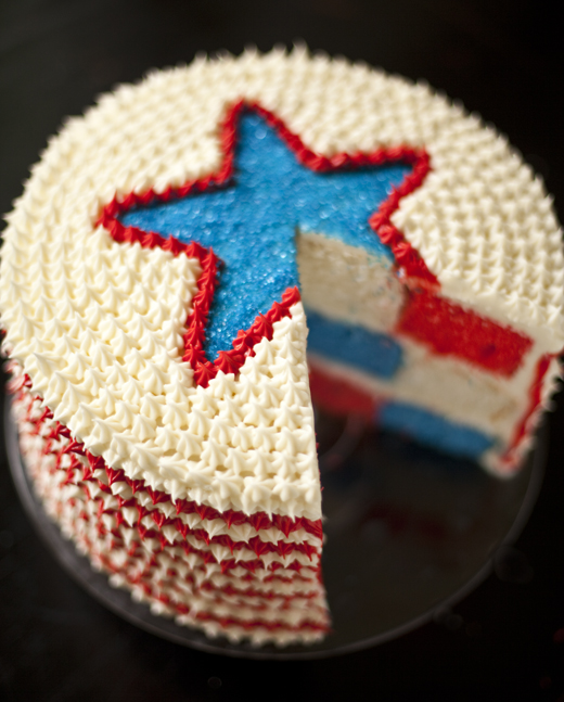 4th of July cake | ZoëBakes | Photo by Zoë François