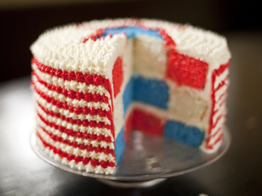 4th of July Cake | ZoëBakes | Photo by Zoë François