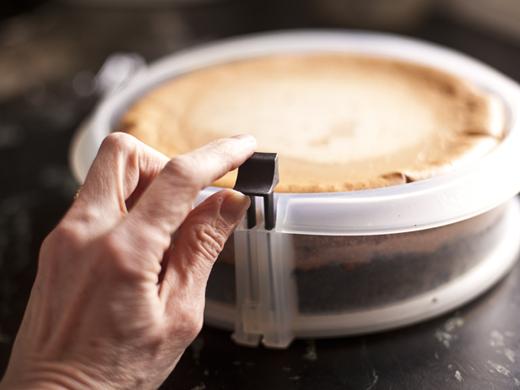 Peanut butter and jelly cheesecake recipe | ZoëBakes | Photo by Zoë François