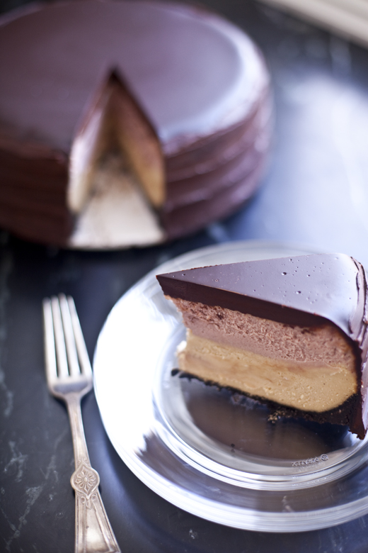 Peanut butter and jelly cheesecake recipe | ZoëBakes | Photo by Zoë François