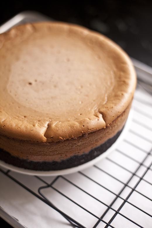 Peanut butter and jelly cheesecake | ZoëBakes | Photo by Zoë François