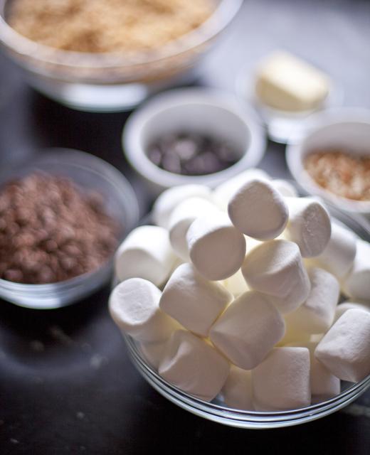 Marshmallows and other snacks | ZoëBakes | Photo by Zoë François