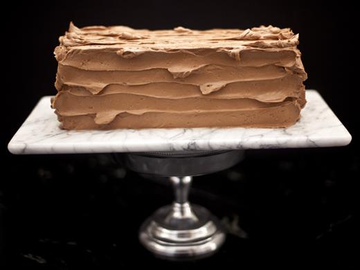 7 layer cake for Passover | ZoëBakes | Photo by Zoë François