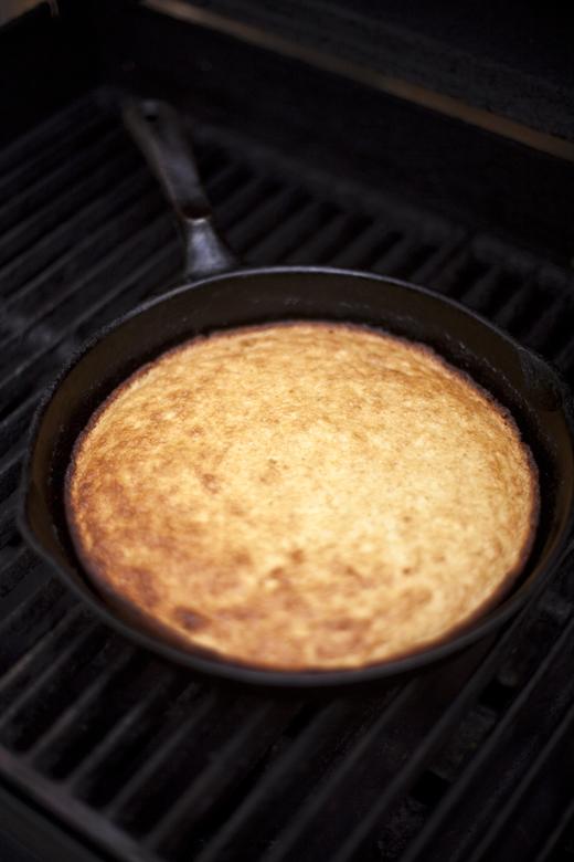 Grilling cornbread | ZoëBakes | Photo by Zoë François