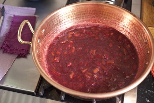Making Rhubarb-Orange Jam | ZoëBakes | Photo by Zoë François
