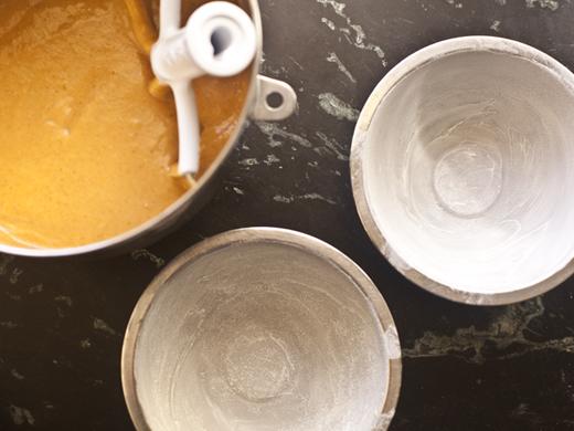 Preparing Pumpkin Cake | ZoëBakes | Photo by Zoë François