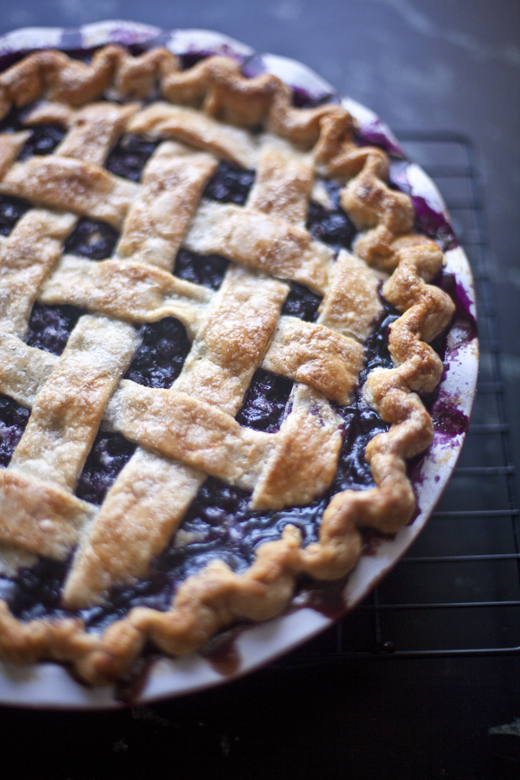 Blueberry Pie | photo by Zoë François