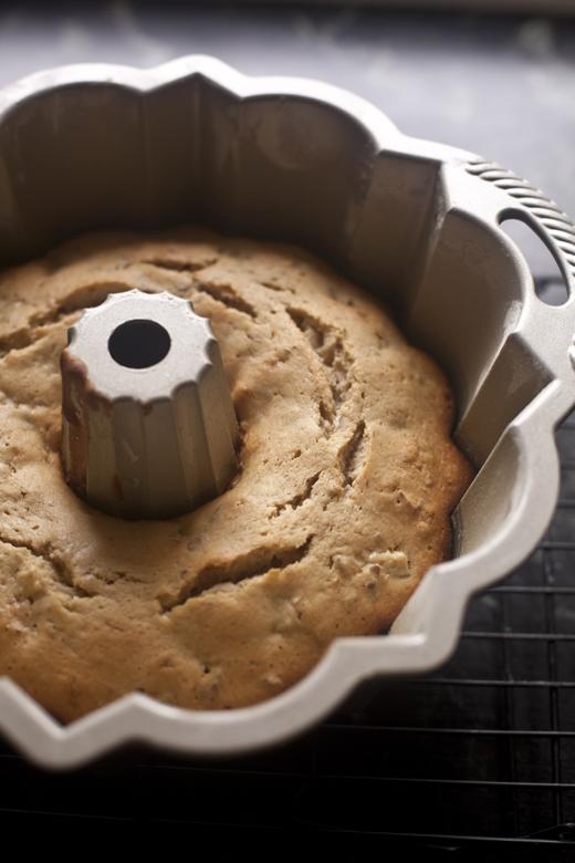 Apple Cake Cooling in a Bundt Pan | ZoeBakes | Zoë François