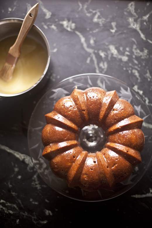 Honey Whiskey Apple Cake | ZoeBakes 04