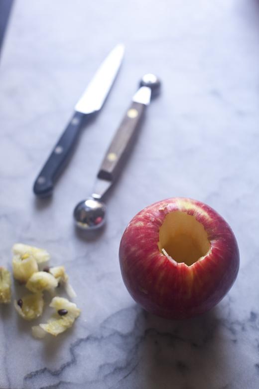 Paleo Stuffed Apple Recipe | ZoëBakes | Photo by Zoë François