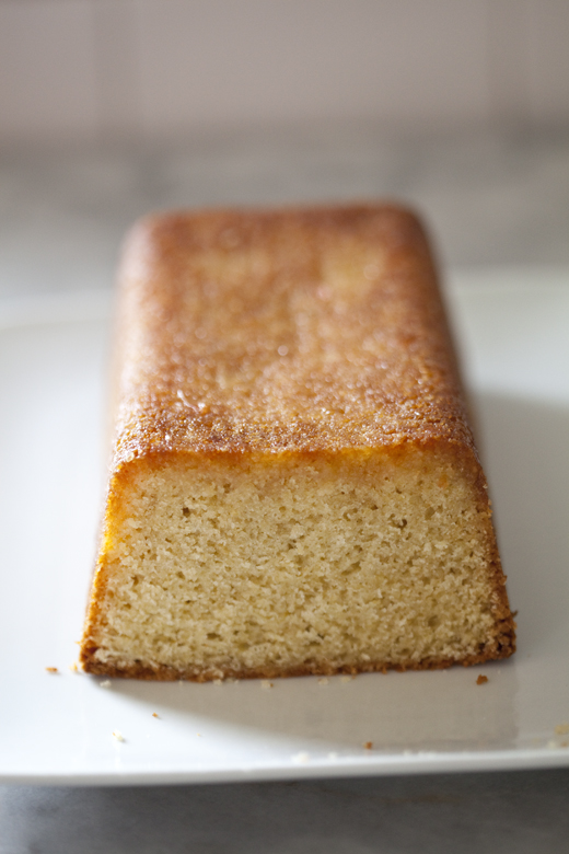 Grapefruit Pound Cake 01 | ZoeBakes