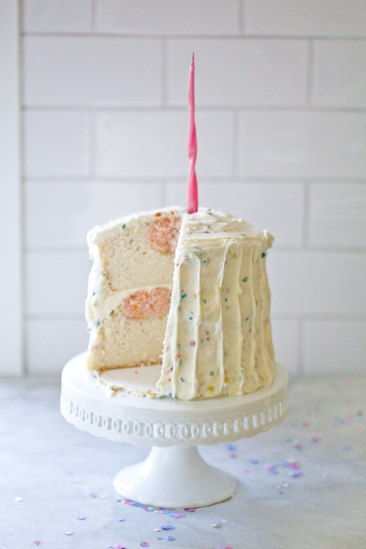 Rainbow Chip Cake 09