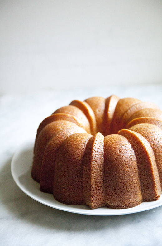 Perfect Lemon Bundt Cake recipe from Sarabeth's Good Morning cookbook | Photo by Zoë François