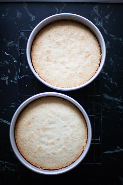 Strawberry Mascarpone Cake | ZoeBakes | Photo by Zoë François
