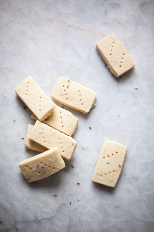 Lemon Lavender Shortbread | ZoeBakes (5 of 17)