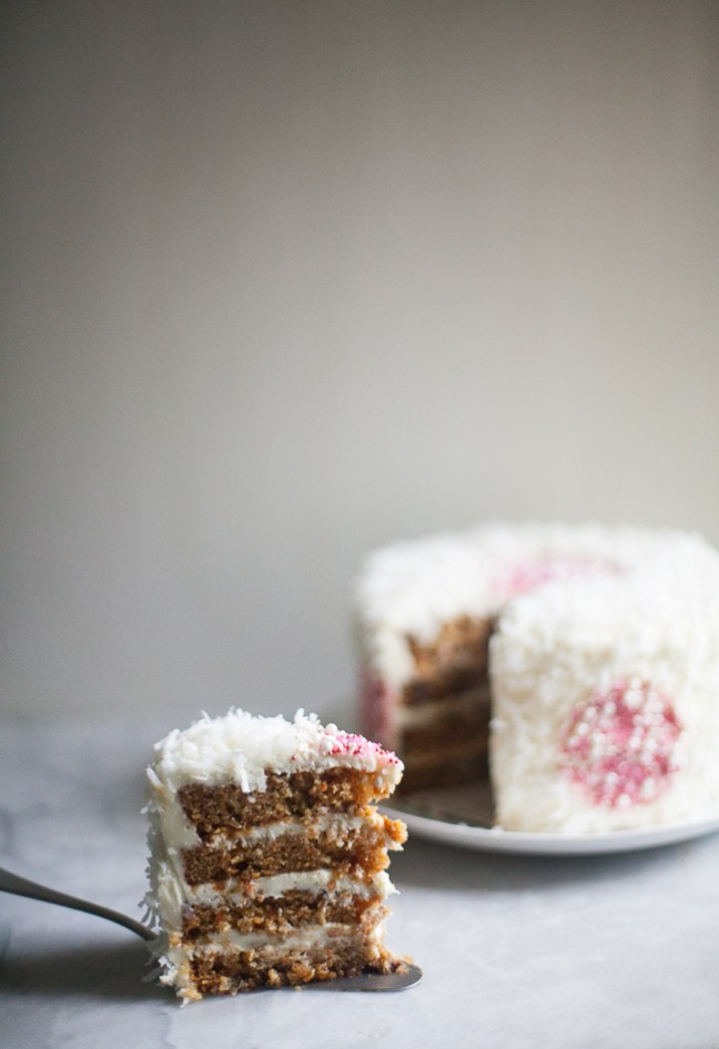 Easter Carrot Cake | ZoëBakes | Photo by Zoë François