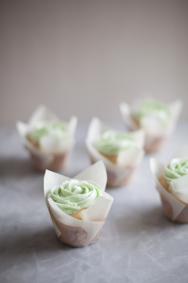 St. Patrick's Day Cupcake | ZoeBakes photo by Zoë François