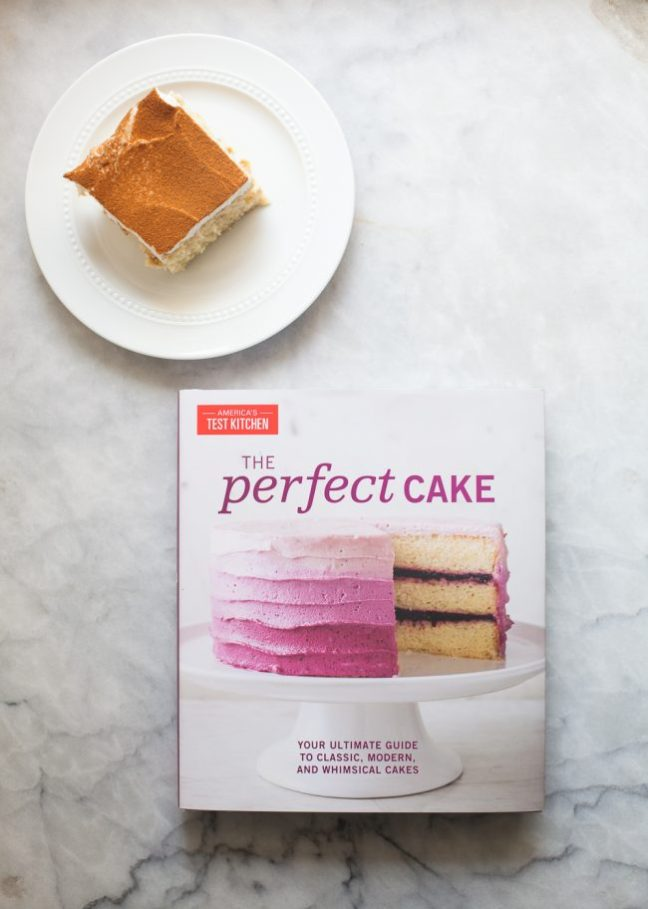 Tres Leches Cake and The Perfect Cake cookbook | Photo by Zoë François