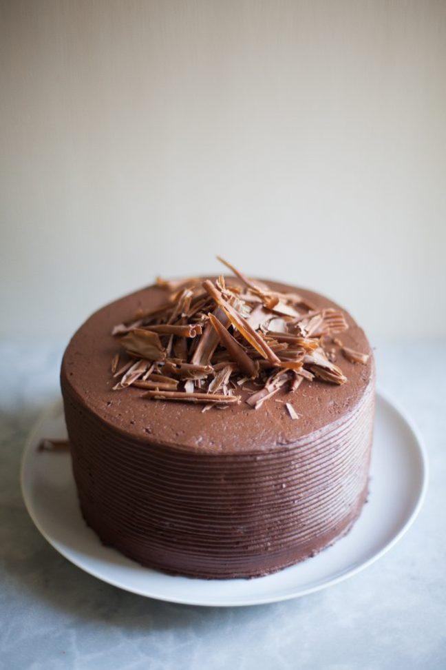 Chocolate Birthday Cake | Photo by Zoë François