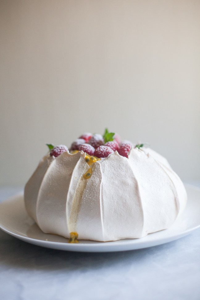 Pavlova | ZoëBakes photo by Zoë François