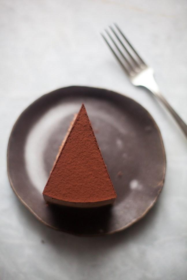 Triple Chocolate Mousse Cake | ZoeBakes photo by Zoë François