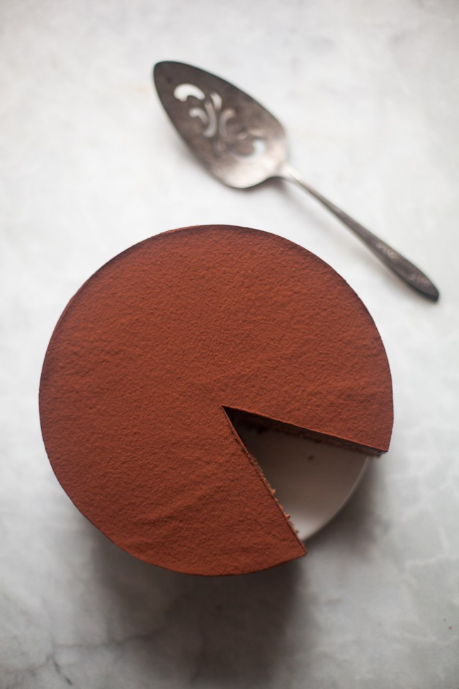 Chocolate Mousse Cake | ZoëBakes photo by Zoë François