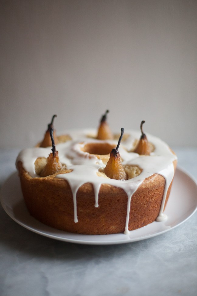 Cardamom Pear Cake | ZoeBakes photo by Zoë François