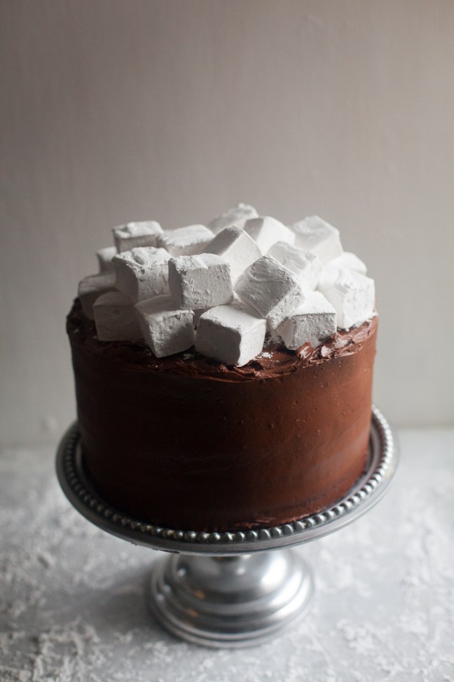 Hot Chocolate Layer Cake