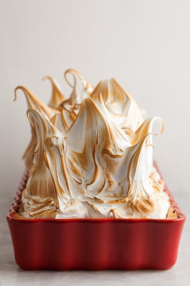 Mile-High Lime Meringue Tart | ZoeBakes photo by Zoë François