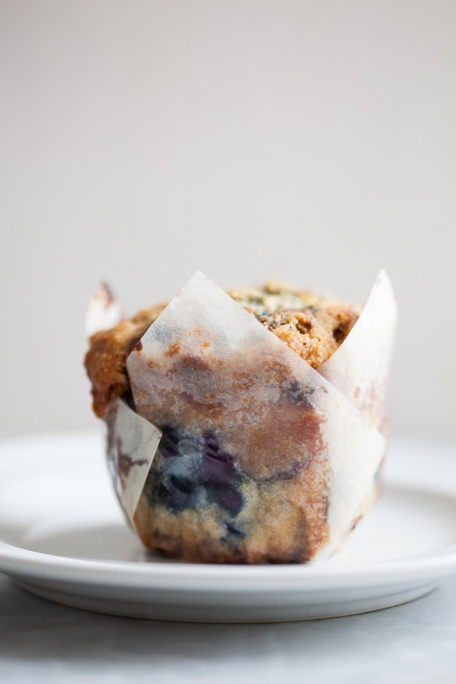 Blueberry Muffins | ZoeBakes photo by Zoë Francois