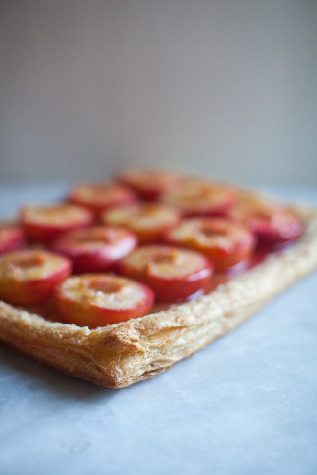 Fruit Tart with Homemade Puff Pastry | ZoeBakes photo by Zoë François