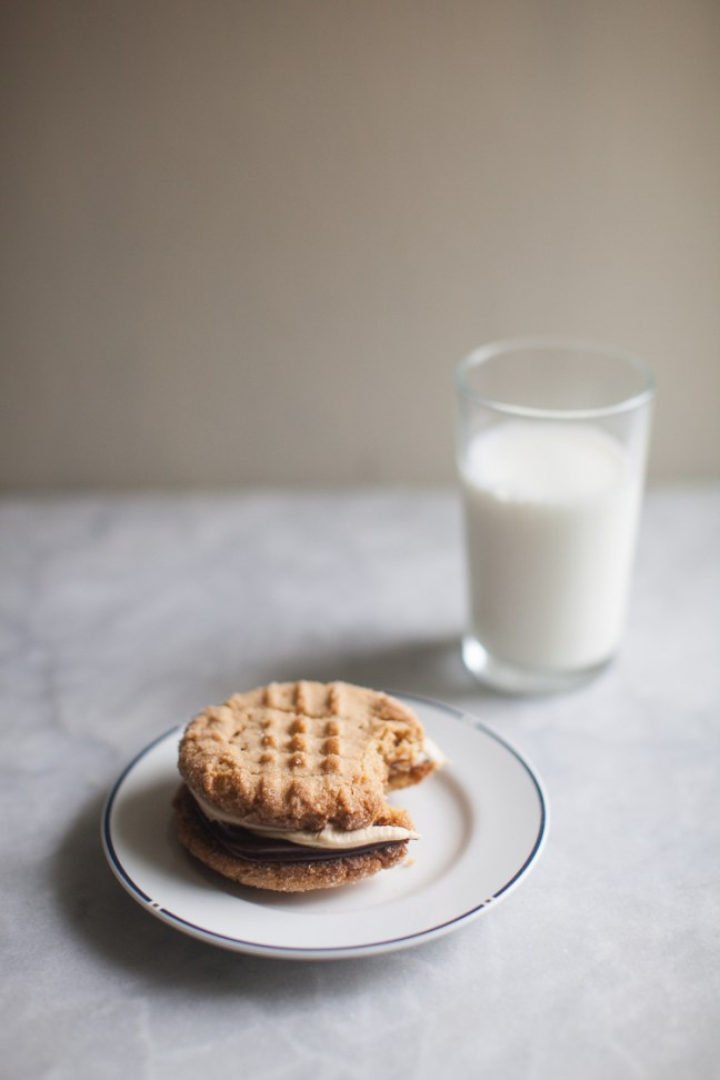 Peanut Butter Sandwich Cookies | ZoeBakes photo by Zoë François