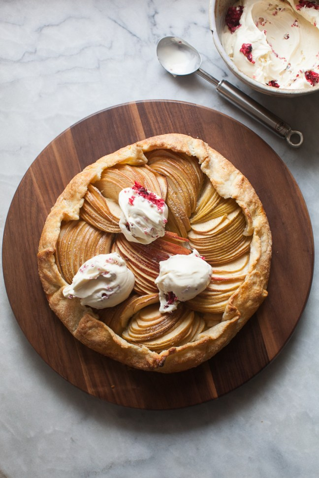 Apple Almond Galette | ZoeBakes photo by Zoë François