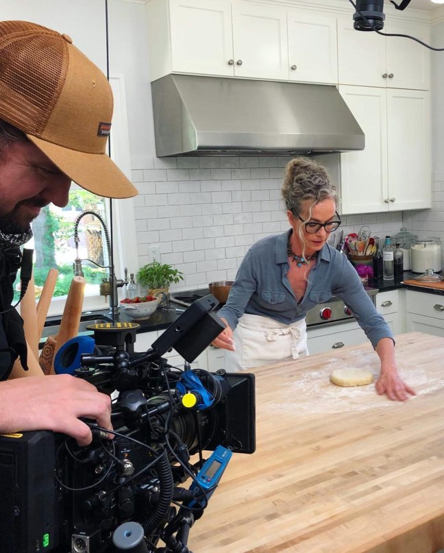 Behind the Scenes of Zoe Bakes on Magnolia Network