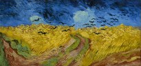 Vincent Van Gogh Wheatfield with Crows, 1890