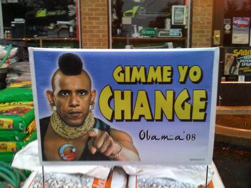 Racist Obama Sign 3