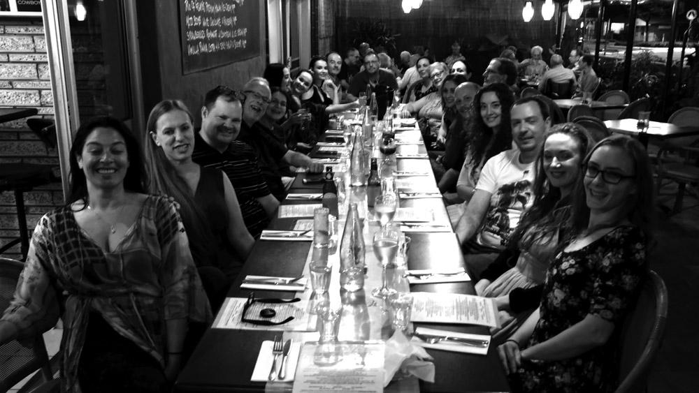Zoe Fest 2017 Group Dinner
